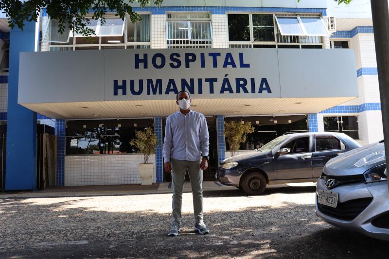 Everton Ferreira retoma visita aos locais de referência de combate ao coronavírus