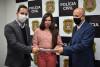 Tatiane Lopes se reúne com delegado-geral da Polícia Civil
