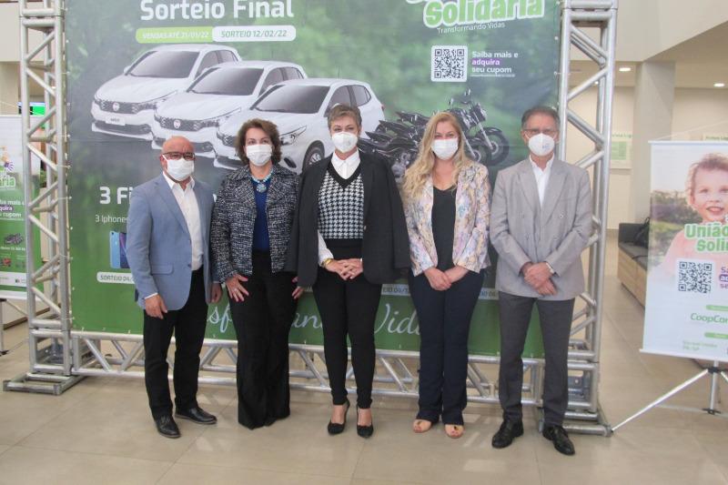 Lu Bogo participa do lançamento da campanha União Solidária 2021