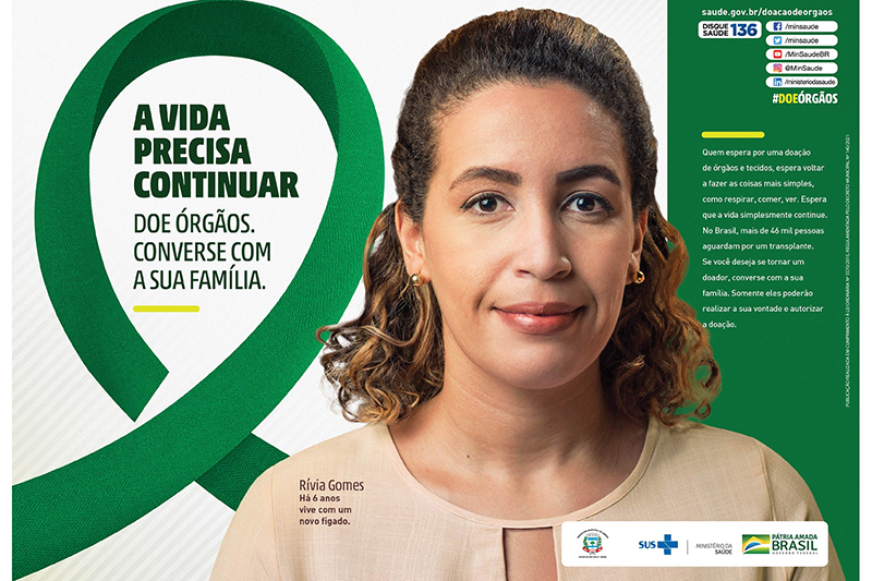 Vereadora Terezinha ressalta a importância do incentivo à doação de órgãos