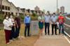 Presidente da Câmara e vereadores participam da entrega de alça de Viaduto Antonio Feres